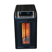 Lifesmart Life Pro Series 1,500 Watt Portable Electric Infrared Cabinet Heater