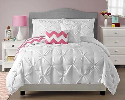VCNY Kara Reversible Comforter Set; Twin
