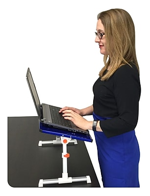 Stand Steady Traveler Folding Laptop Stand; Blue