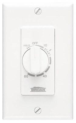 Broan 60 Minute Fan Control Timer Switch WYF078277762176