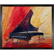 Tori Home Artisbe Piano II by Justyna Kopania Framed Painting Print
