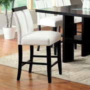 Hokku Designs Luminate 27'' Bar Stool with Cushion (Set of 2)