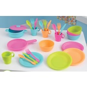 KidKraft 27 Piece Cookware Play Set; Bright