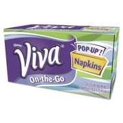 Kimberly-Clark 1-Ply Viva On-the-Go Napkins - 65 Sheets per Box / 8 Boxes