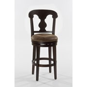 Hillsdale Burkard 30'' Swivel Bar Stool with Cushion