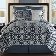 VCNY Westerly 9 Piece Comforter Set; Queen