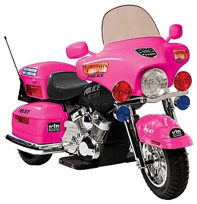 Kidz Motorz 12V Battery Powered Police Motorcycle;