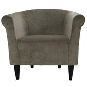 Fox Hill Trading Savannah Barrel Chair; Silver