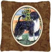 Caroline's Treasures Portuguese Water Dog Indoor/Outdoor Throw Pillow