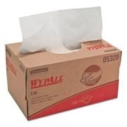 Kimberly-Clark Wypall L10 Utility Wipes - 125 Wipes per Box / 18 Boxes