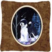 Caroline's Treasures Starry Night Portuguese Water Dog Indoor/Outdoor Throw Pillow