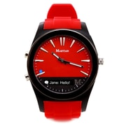 Martian Notifier Smartwatch, Red