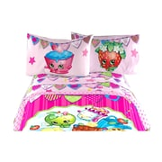 Shopkins - Ensemble de draps pour lit simple