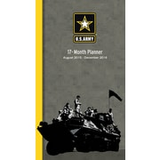 U.S. Army Tanks 2015-16 17-Month Planner