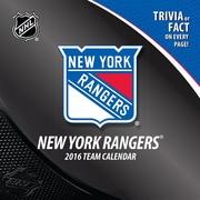 New York Rangers 2016 Box Calendar