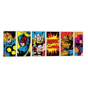 iCanvas Character Colored Panoramic by Marvel Comics Graphic Art on Canvas