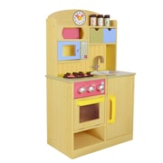 Teamson Kids Little Chef Wooden Play Kitchen with Accessories