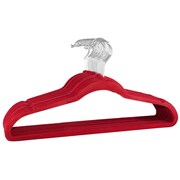 Signature Home Brands Non-Slip Space Saver Hangers (Set of 150); Red