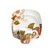 Better Homes Dinnerware Set Floral Spray 16 Piece (BH13-036-199-20)