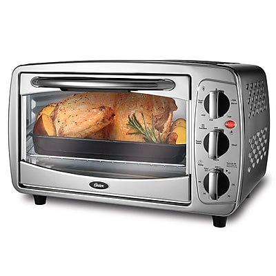 Countertop Oven Made In Usa : Oster Versatile 6 Slice Toaster Oven, Stainless Steel (TSSTTV0000 ...