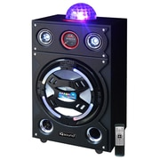 "Supersonic 93591365M IQ-3026BT 15"" Bluetooth DJ Speaker with Disco Ball, Black"