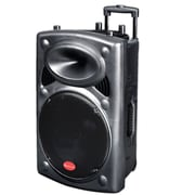 "Supersonic IQ-3115JBT 15"" Bluetooth DJ Speaker, Black"