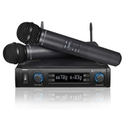 Technical Pro 93590717M WM852 UHF Dual Wireless Microphone System