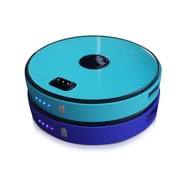 Sungale 2-Disk Round Stackable Power Bank, Blue/Turquoise (SPB0200-BT)