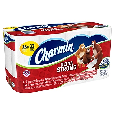 Charmin® Extra Strong Bathroom Tissue, Double Roll