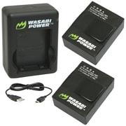 Wasabi Power GoPro® Hero®3/Hero®3+ Dual USB Charger & 2 Li-poly Batteries Kit