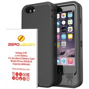"Zerolemon iPhone® 6 4.7""/6s Zeroshock 4,600mAh Rugged Removable Battery Case"