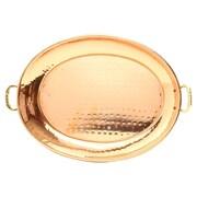 Old Dutch Decor Copper Serving Platter; Small