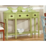 HeatherBrooke Pistachio Pudding Console Table