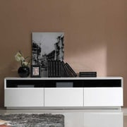 J&M Furniture TV Stand; White