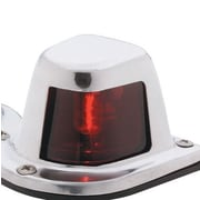 Attwood 1-Mile Sidelight Deck Mount; Red