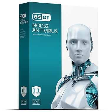 ESET NOD32 Antivirus for Windows, 1 User