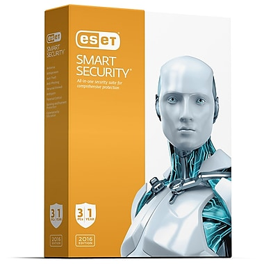 ESET Smart Security for Windows, 3 Users