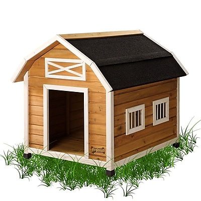 Pet Squeak The Barn Dog House; Medium