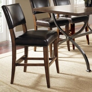 Hillsdale Cameron 26'' Bar Stool with Cushion (Set of 2)