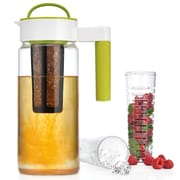 Home Essentials and Beyond 3-In-1 Pitcher; Lime