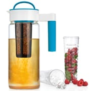 Home Essentials and Beyond 3-In-1 Pitcher; Blue