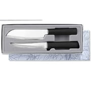 Rada Cutlery 2 Piece Cook Knife Set; Black
