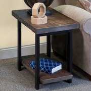 Alaterre Pomona Reclaimed Wood/Metal End Table