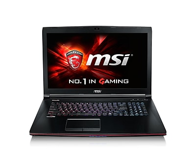 msi GE72 Apache Pro-029 17.3 LCD Intel Core i7-6700HQ 1TB HDD 16GB RAM Windows 10 Gaming Notebook, Aluminum Black
