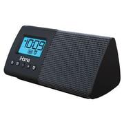iHome Black Dual Alarm Clock Speaker System (iHM46BC)