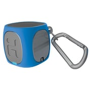 iHome iBT55LGC Bluetooth Portable Mini Speaker, Blue/Gray