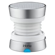iHome iM71SC Color Changing Mini Speaker, Silver