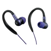 iHome iB8BLC Over-the-Ear Lightweight Sport Earphones, Purple