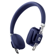 iHome iB81LC On-Ear Bluetooth Wireless Headphones with Microphone, Blue