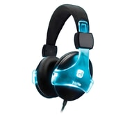 iHome iB91BC Over-the-Ear Bluetooth Wireless Headphones with Microphone, Black/Blue